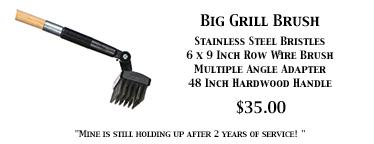 Big Grill Brush For Large Grills