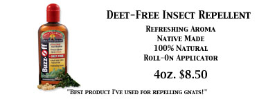 Deet Free Insect Repellent