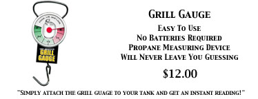 Grill Gauge, Propane Tank Measuring Device