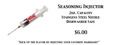 Seasoning Injector