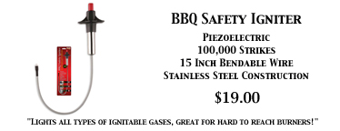 BBQ Piezoelectric Safety Igniter