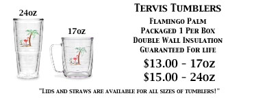 24oz And 17oz Tervis Tumblers