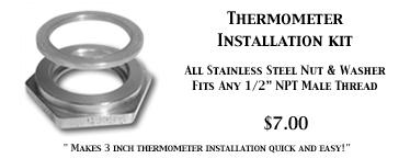 Thermometer Installation Kit